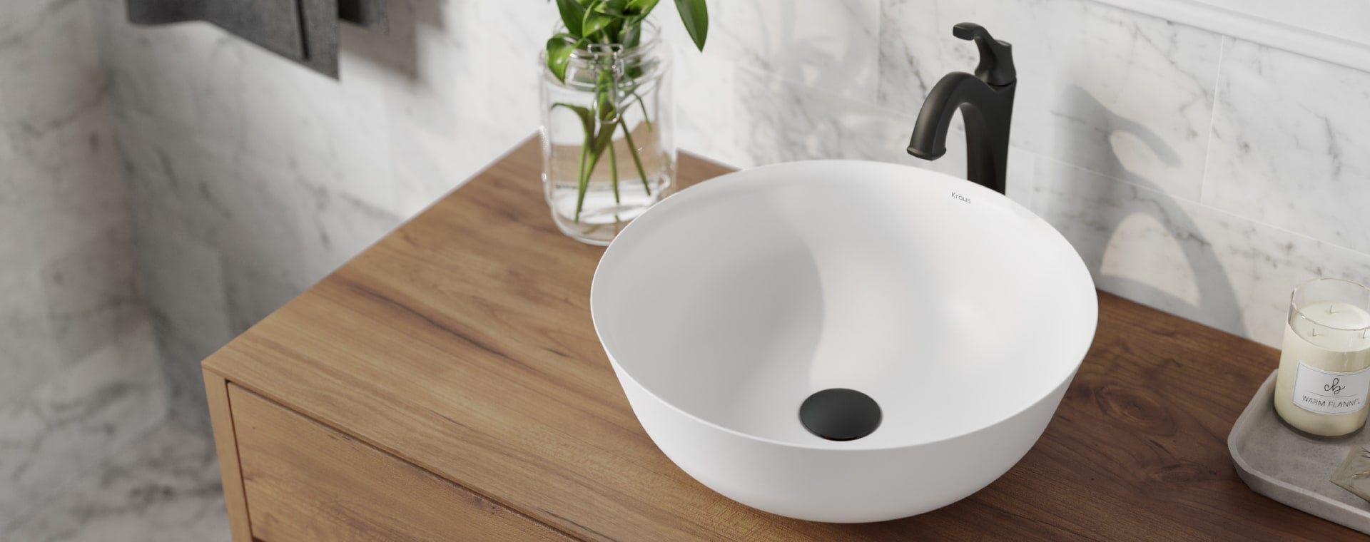 Kraus USA | Vessel Sinks | Bathroom Sinks