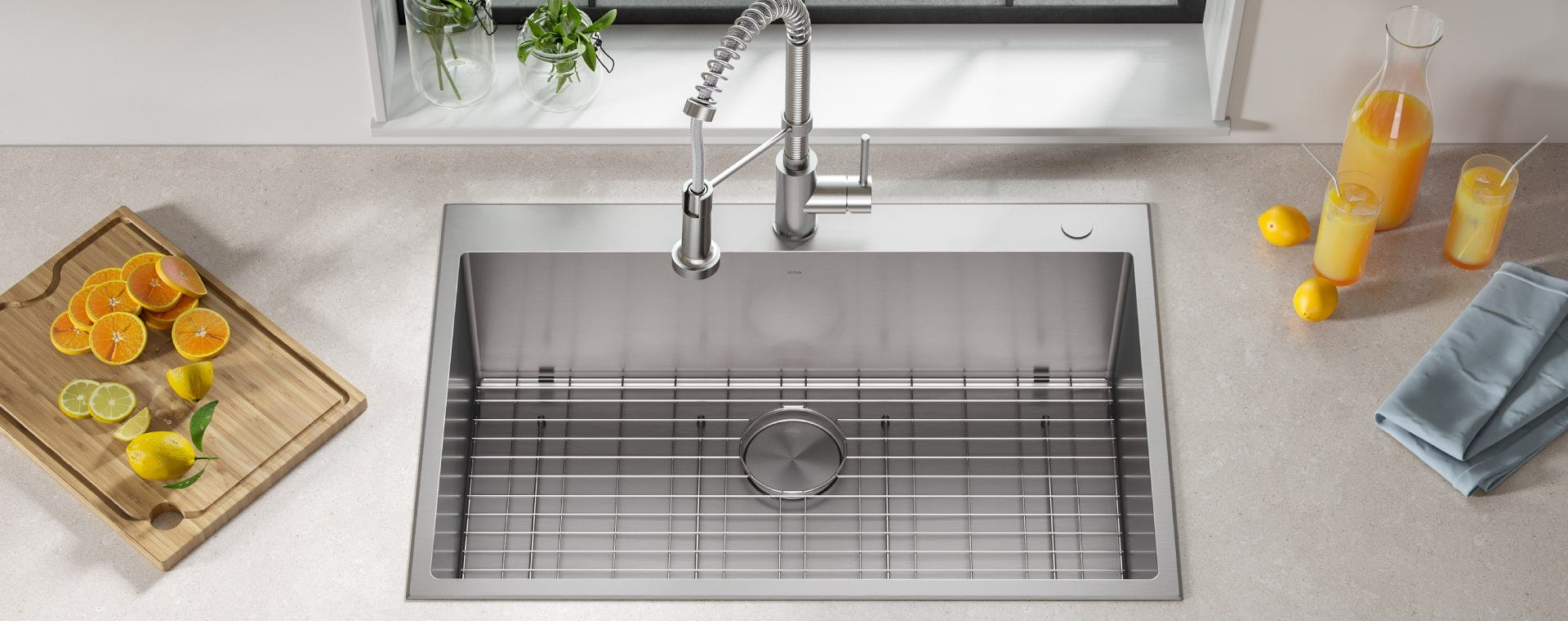 Top-Mount / Drop-In Sinks