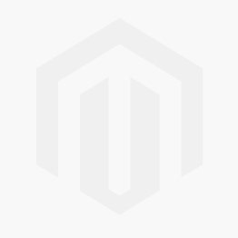 "Nature Blue Glass Vessel 17"" Bathroom Sink w/ Waterfall Faucet and Pop-Up Drain in Satin Nickel C-GV-399-19mm-10SN"