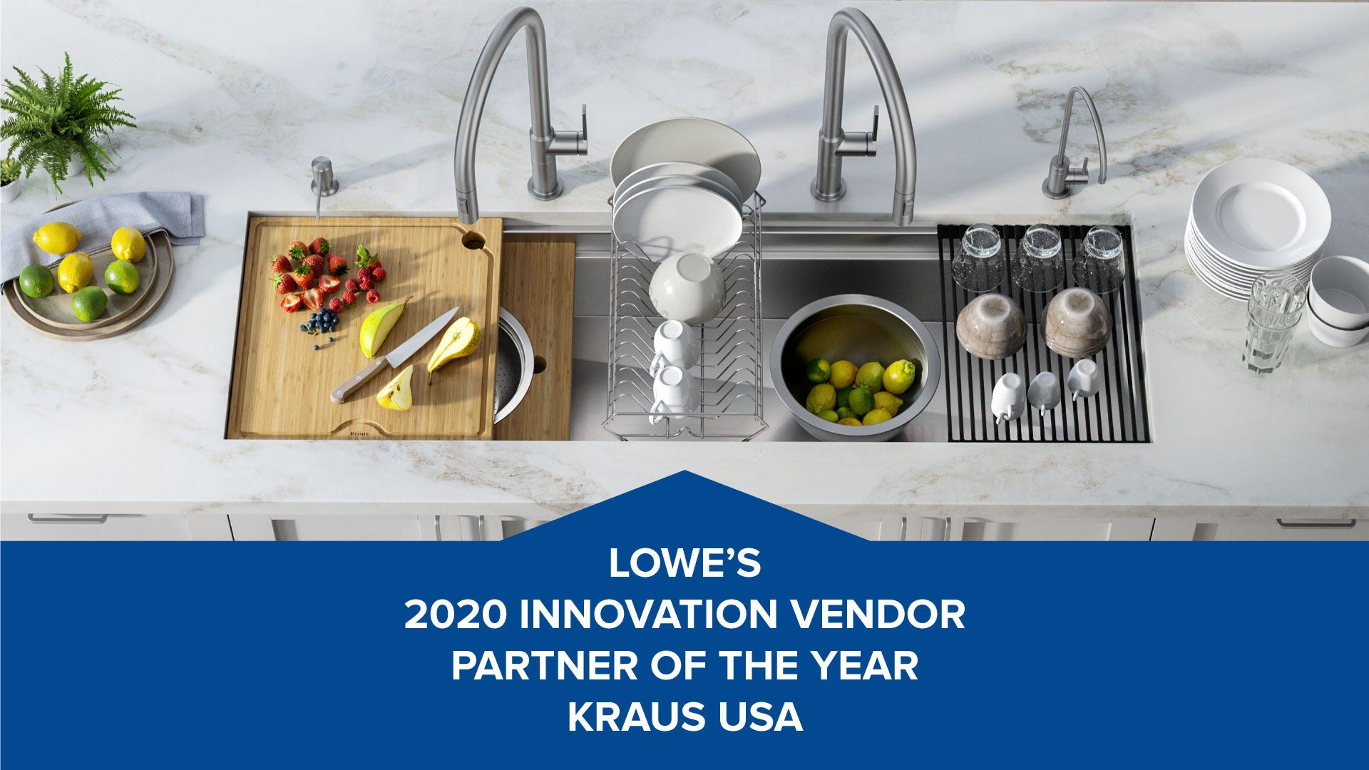 Kraus-Lowes-Kore-sink-Oletto-faucets