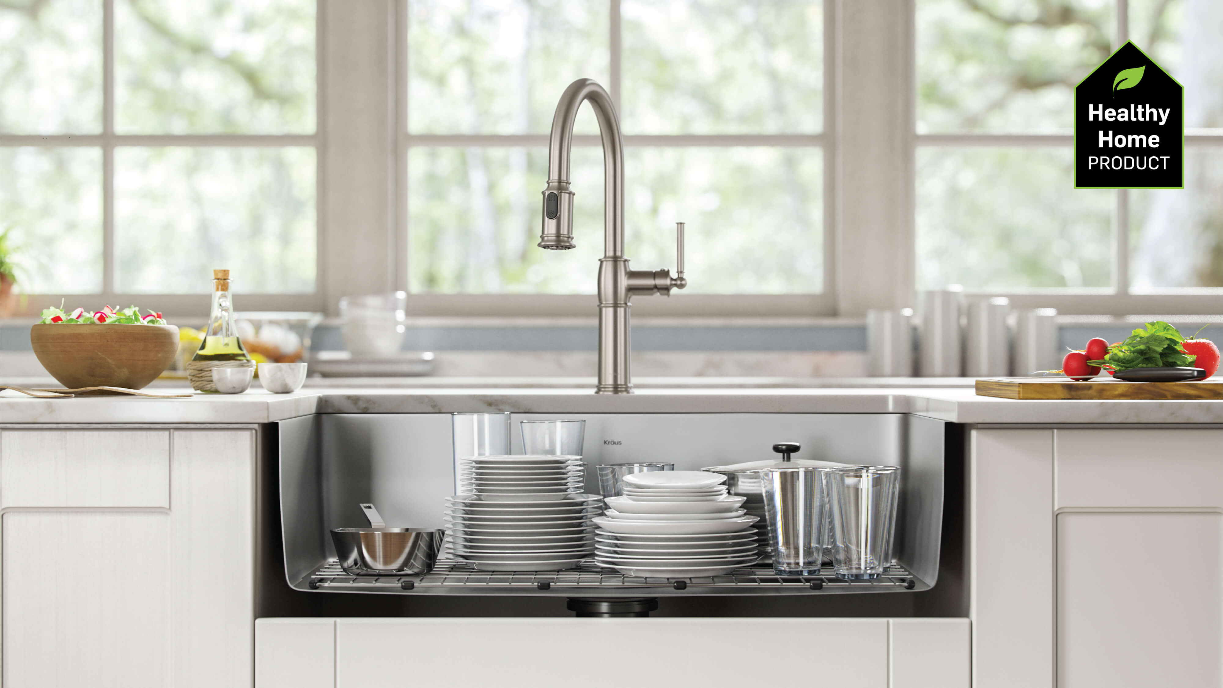 Kitchen Sinks for a Healthy Home