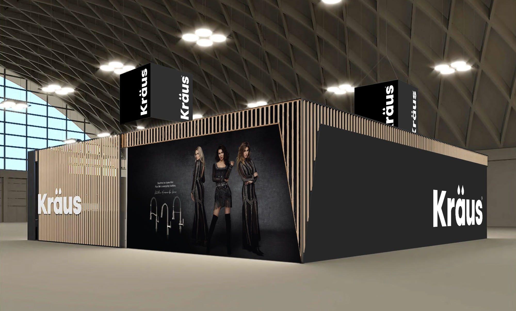 Kraus KBIS 2020 Booth