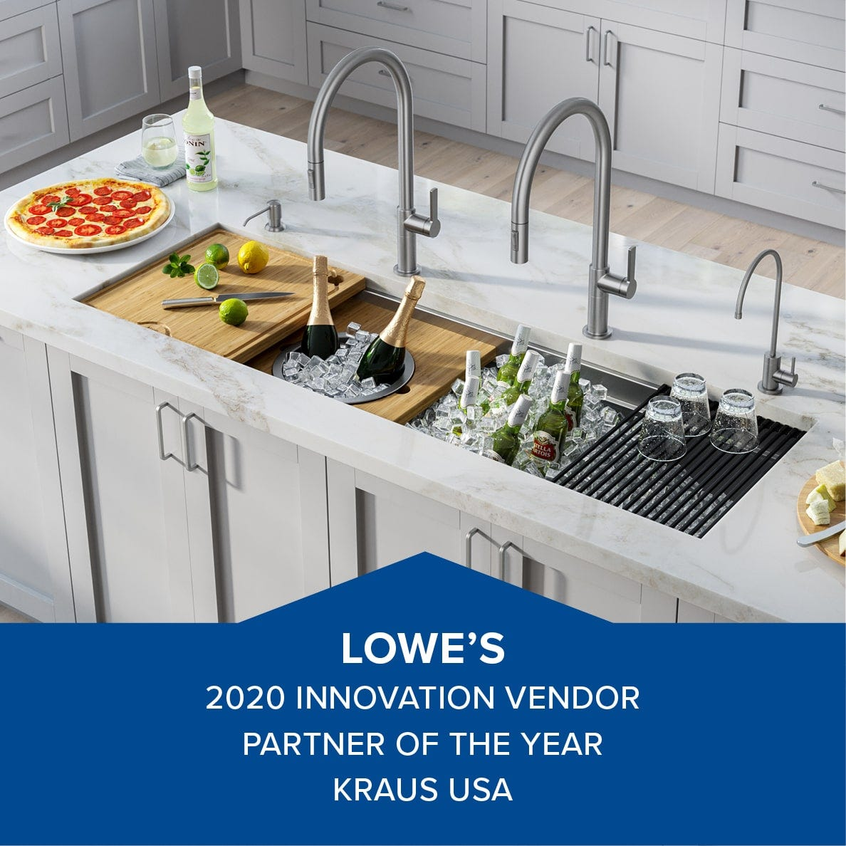 Kraus Recognized By Lowe S With 2020 Vendor Partner Of Year Award