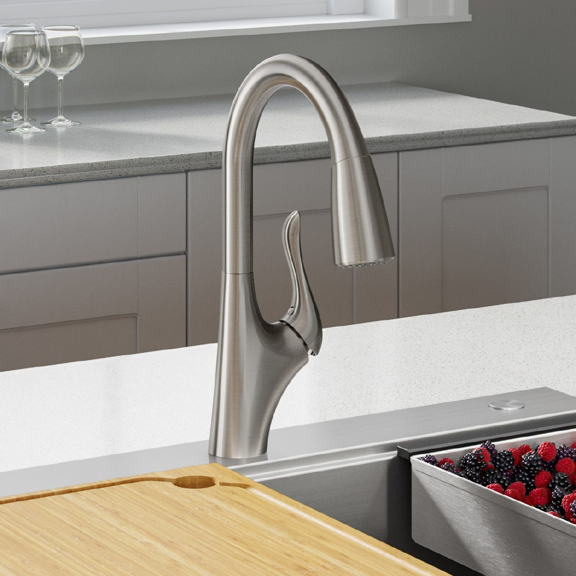 Merlin™  Single Handle Pull-Down Faucet