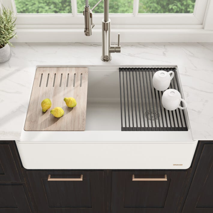 Kraus Bellucci Apron-Front Kitchen Sinks