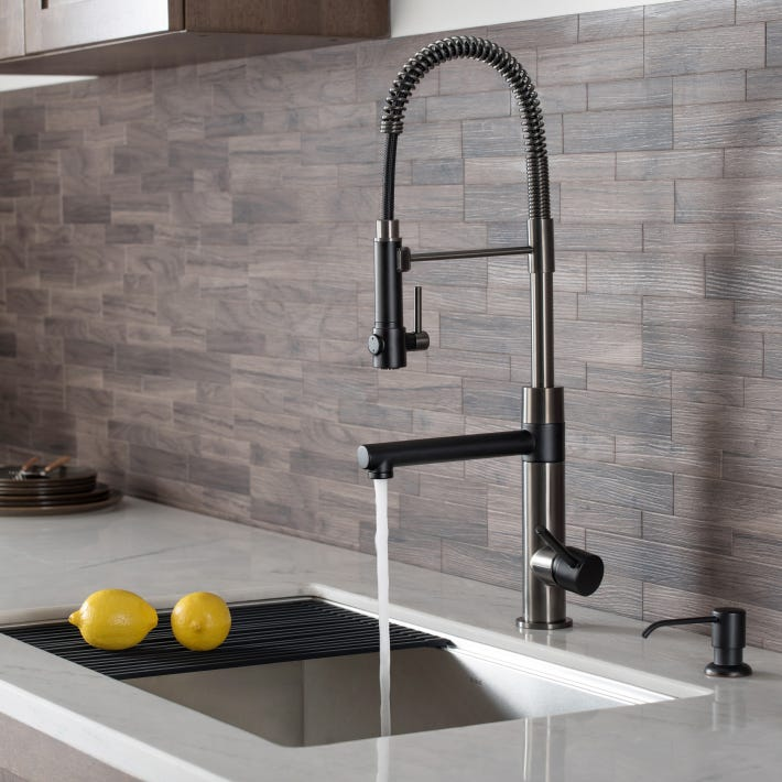 Kraus Bolden Commercial-Style Faucets