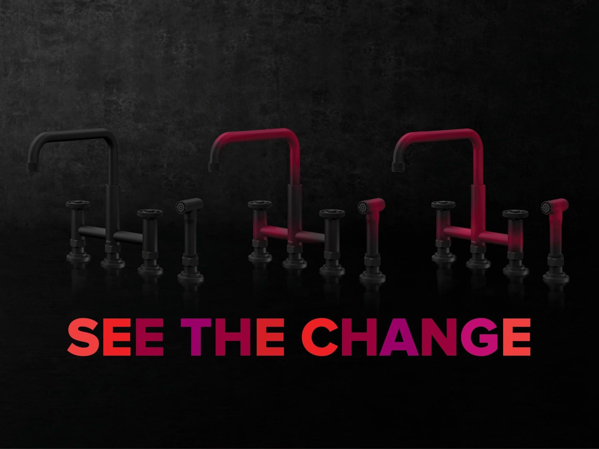 Kraus Color Changing Faucet at KBIS 2020