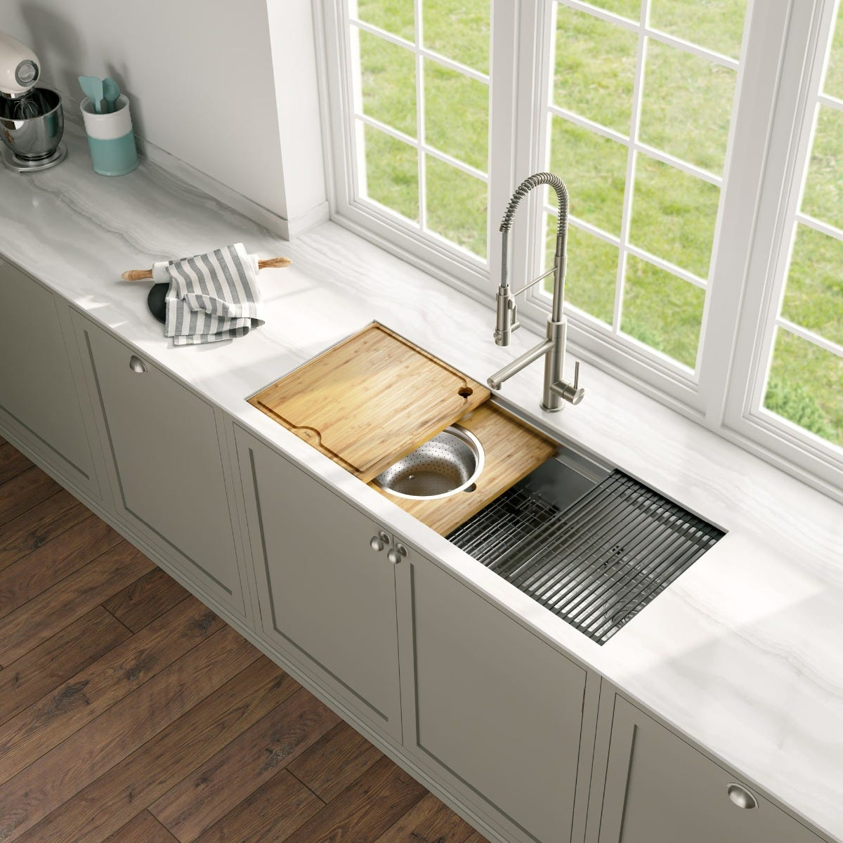 Kraus Kore Workstation Kitchen Sinks